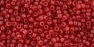 10 g TOHO Seed Beads 11/0 TR-11-YPS0022 - HYBRID Color Trends: Milky - Aurora Red