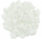 #03.00 - 25 Stück GemDUO 5x8 mm - Chalk White