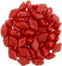 #05.00 - 25 Stück GemDUO 5x8 mm - Opaque Red