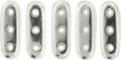 #01.00 - 25 Stück Beam Beads 3x10 mm - Labrador Full
