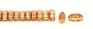 #01.07 - 25 Stück CALI Beads 3x8 mm - Crystal Apricot