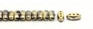 #01.05 - 25 Stück CALI Beads 3x8 mm - Crystal Amber