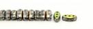 #01.06 - 25 Stück CALI Beads 3x8 mm - Crystal Vitrail