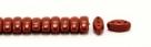#03.00 - 25 Stück CALI Beads 3x8 mm - Opaque Terrakotta