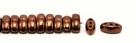 #04.02 - 25 Stück CALI Beads 3x8 mm - Jet Dk Bronze