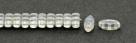#01.04 - 25 Stück CALI Beads 3x8 mm - Crystal Lagoon