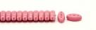 #16.00 - 25 Stück CALI Beads 3x8 mm - Opaque Dk Rosaline