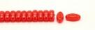 #19.00 - 25 Stück CALI Beads 3x8 mm - Opal Lt Siam