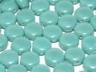 #03.01 - 25 Stück DiscDuo Beads 6x4 mm - Jade Schimmer