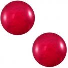 1 Stück Acryl-Cabochon - Polaris - rund - 20 mm - mosso shiny virtual pink