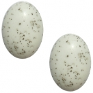 1 Stück Acryl-Cabochon - Polaris-Polarino - oval - 18*13 mm (LxB) - silver shade