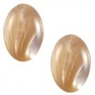 1 Stück Acryl-Cabochon - Polaris - oval - 18*13 mm (LxB) - beige brown
