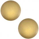 1 Stück Acryl-Cabochon - Polaris-Soft Tone - Matt -  rund - 20 mm - khaki green
