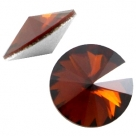 1 Glas-Rivoli 1122-12 mm - Red Magma Satin