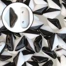 #00.01 - 25 Stück GemDUO DUETT 5x8 mm - Black & White