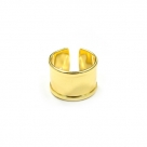 1 Fingerring aus Metall - gold