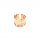 1 Fingerring aus Metall - rosé gold