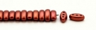 #01.09 - 25 Stück CALI Beads 3x8 mm - Crystal Lava Red