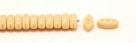#20.00 - 25 Stück CALI Beads 3x8 mm - Opaque Beige