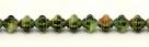 #16 25 Stück Fizgigs - Ø 6 mm - tr. lime green