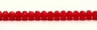 #22e - 20 Stück - 3*5mm Donut - tr. lt siam/red paint coating