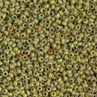 10 Gramm Miyuki Seed Beads 11-4515 Opaque Chartreuse Picasso