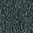 10 Gramm Miyuki Seed Beads 11-4516 Opaque Dk Teal Picasso