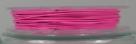 1 Rolle Stahldraht/nylonummantelt - hot pink