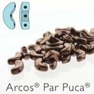 23980-14415 - 25 Stück - Arcos Par Puca - 5x10 mm - Dk Bronze