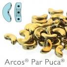 00030-26440 - 25 Stück - Arcos Par Puca - 5x10 mm - Full Dorado (Full Amber)