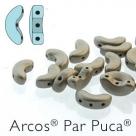 23980-79080 - 25 Stück - Arcos Par Puca - 5x10 mm - Metallic Matte Beige