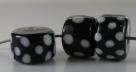 1 Stück Lampwork Bead Wheel -  ± Ø9x14 mm