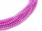 #27.0 1 Strang - 8,0 mm Glaswachsperlen - hot pink