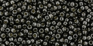 10 g TOHO Seed Beads 11/0 TR-11-PF595 - Permanent Finish - Galvanized Pyrite (Cool Gray) (A,C,D)