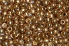 10 g TOHO Seed Beads 11/0 TR-11-PF592 - Permanent Finish - Galvanized Champagne (Golden Fleece) (A,C,D)