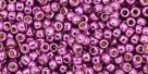 10 g TOHO Seed Beads 11/0 TR-11-PF580 - Permanent Finish - Galvanized Magenta (Sugar Plum) (A,C,D)