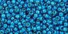 10 g TOHO Seed Beads 11/0 TR-11-PF583 - Permanent Finish - Galvanized Electric Blue (A,C,D)