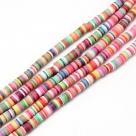 1 Strang Polyclay Katsuki Beads 6 mm - Mix