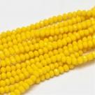145 facetierte Rondelle 2*3mm Yellow