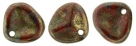 #09a 50 Stck. Rose Petals 8*7mm - red bronze picasso