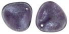 #14.00 10 Stck. Rose Petals 14*13mm -  Luster - Stone Tanzanite