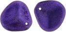 #12.00 25 Stck. Rose Petals 14*13mm -  Opalescent Purple