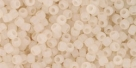 10 g TOHO Seed Beads 11/0 TR-11-0147 F (C) - Ceylon-Frosted Lt Ivory (C)