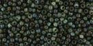 10 g TOHO Seed Beads 11/0 TR-11-Y314 - HYBRID Tr. Aquamarine - Picasso