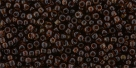 10 g TOHO Seed Beads 11/0 TR-11-Y317 - HYBRID Tr. Lt. Amethyst - Picasso