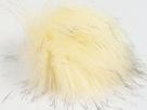 1 Stück Faux Fur PomPom - cream brown