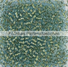 10 g TOHO Seed Beads 11/0 TR-11-1014 - Inside Color Aqua-Gold Metallic Lined (E)