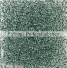 10 g TOHO Seed Beads 11/0 TR-11-1070 - Inside-Color Crystal/Smaragd Lined (E)