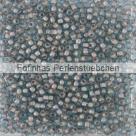 10 g TOHO Seed Beads 11/0 TR-11-1072 - Inside-Color Aquamarine/Coffee Lined (E)