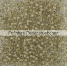 10 g TOHO Seed Beads 11/0 TR-11-1073 - Inside-Color Crystal/Coffee Lined (E)
